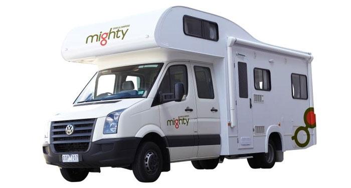Mighty Big Six camper huren in Nieuw-Zeeland