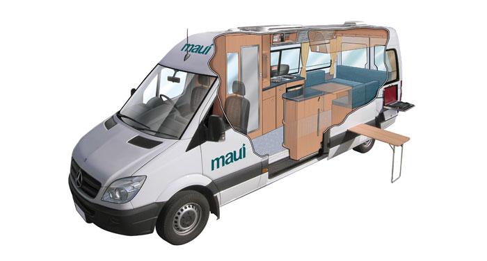 Maui Ultima camper huren in Nieuw-Zeeland