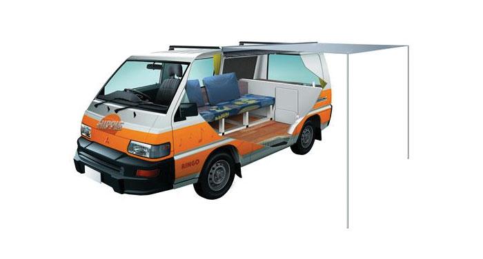 Hippie Drift Campervan huren in Nieuw-Zeeland