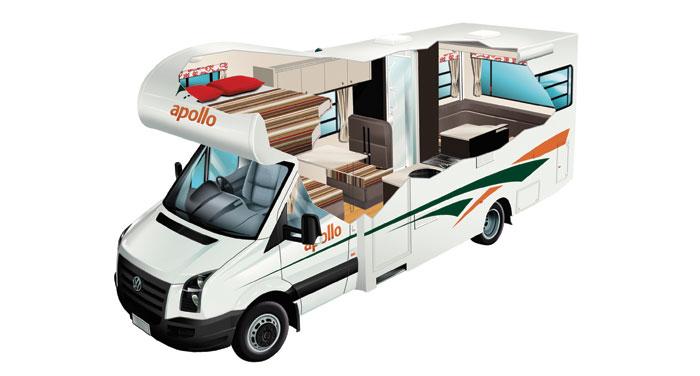 Apollo Euro Star camper huren in Nieuw-Zeeland