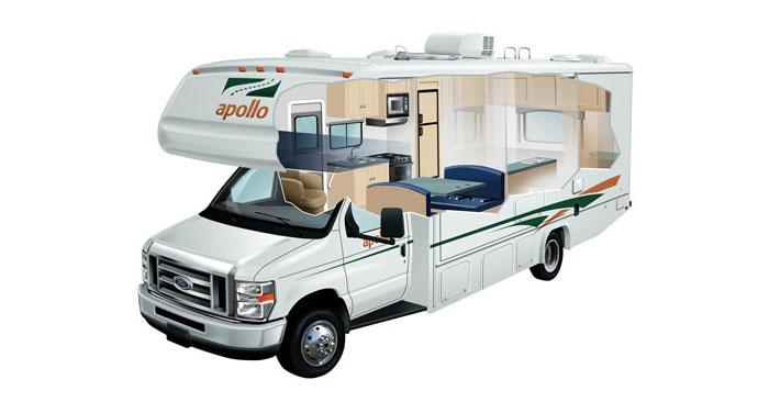 Apollo Sunrise Escape camper huren in Amerika