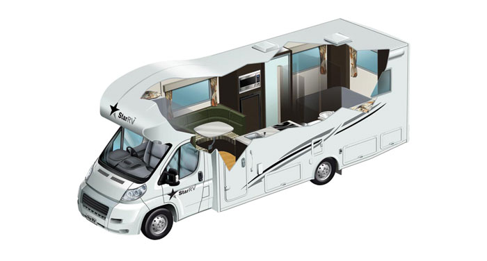 Star RV Pegasus camper huren in Australië