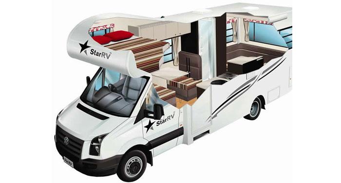 Star RV Phoenix camper huren in Australië