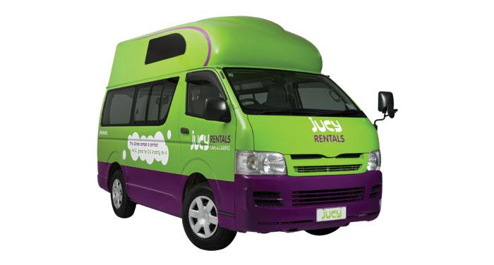 Jucy Condo camper huren in Australië