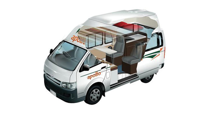 Apollo Endeavour Camper huren in Australië