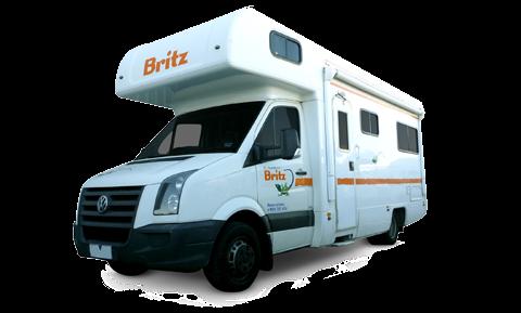 Britz Vista camper huren in Australië