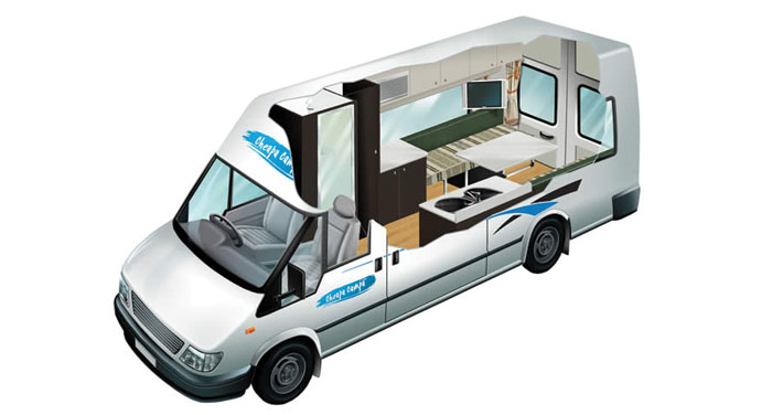 Cheapa Campa 2 berth S-T