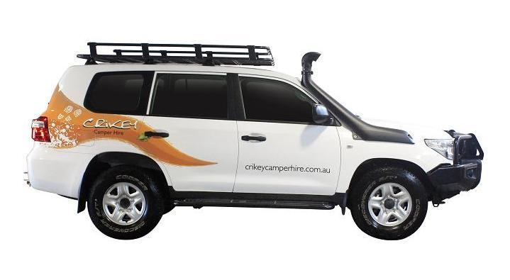 Crikey Safari Camper
